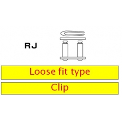 Užspaudžiamo tipo grandinės jungtis D.I.D Chain 420D RJ
