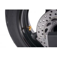 Valves for tubeless wheels PUIG , geltonos spalvos D 8,3mm