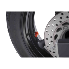 Valves for tubeless wheels PUIG , oranžinės spalvos D 8,3mm