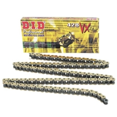 VX series X-Ring chain D.I.D Chain 428VX , 134 narelių ilgio