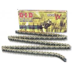 VX series X-Ring chain D.I.D Chain 525VX3 , 118 narelių ilgio , auksas-juoda spalvos