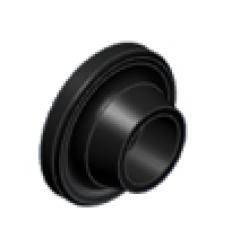 Washer MIVV 50.73.221.1 , juodos spalvos aliumininė