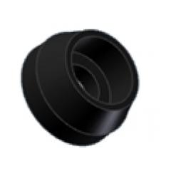 Washer MIVV , juodos spalvos aluminium