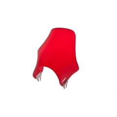 Windshield PUIG NAKED 2133R , raudonos spalvos