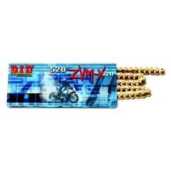 ZVM-X series X-Ring chain D.I.D Chain 520ZVM-X , 106 narelių ilgio , auksas-auksas spalvos