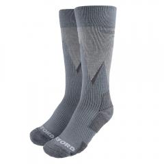 Kojinės Oxford Merino Oxsocks Grey Large 10-12