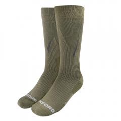 Kojinės Oxford Merino Oxsocks Khaki Large 10-14