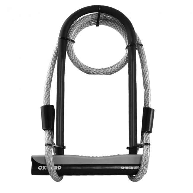 MOTOCIKLO UŽRAKTAS OXFORD SHACKLE 12 DUO 1200mm LOCKMATE