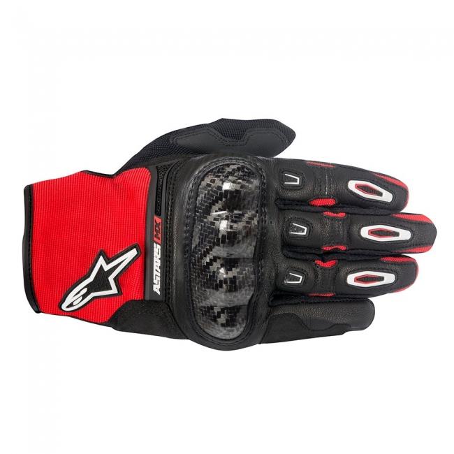 MX PIRŠTINĖS Alpinestars Megawatt Hard Knuckle Black/Red/White