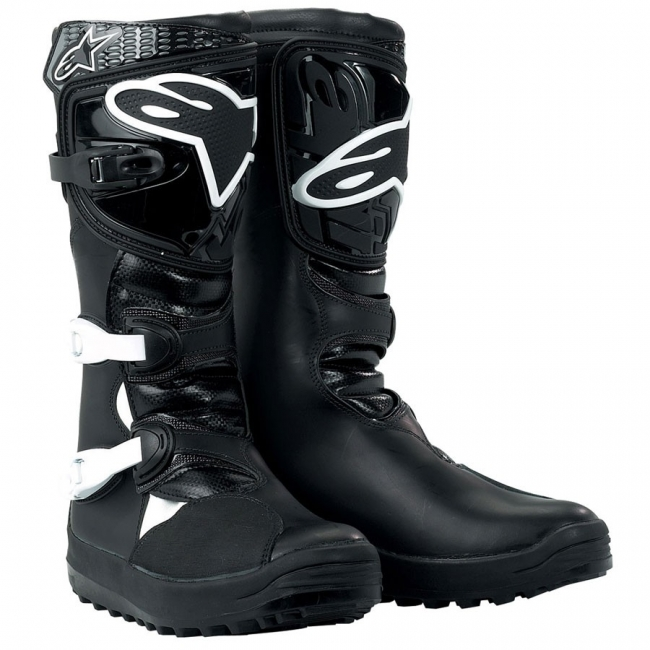 MX BATAI Alpinestars No Stop Trial Black