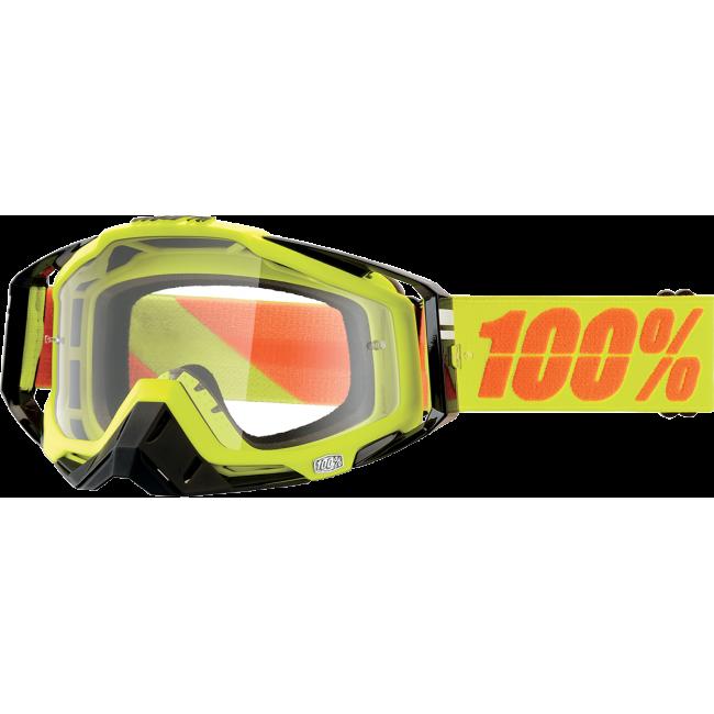 OFF-ROAD AKINIAI 100% RACECRAFT NEON SIGN CLEAR