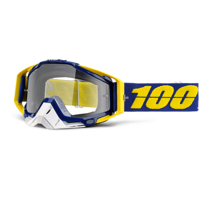 OFF-ROAD AKINIAI 100% RACECRAFT LINDSTROM CLEAR