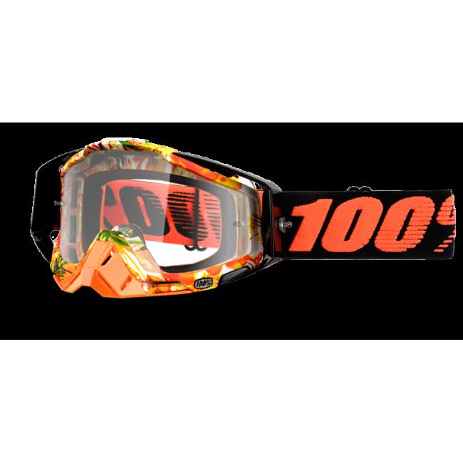 OFF-ROAD AKINIAI 100% RACECRAFT PARADISE CLEAR