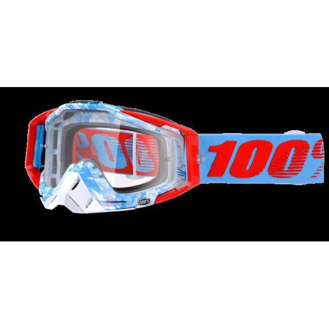 OFF-ROAD AKINIAI 100% RACECRAFT BOBORA CLEAR
