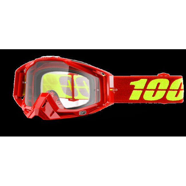 OFF-ROAD AKINIAI 100% RACECRAFT CORVETTE CLEAR