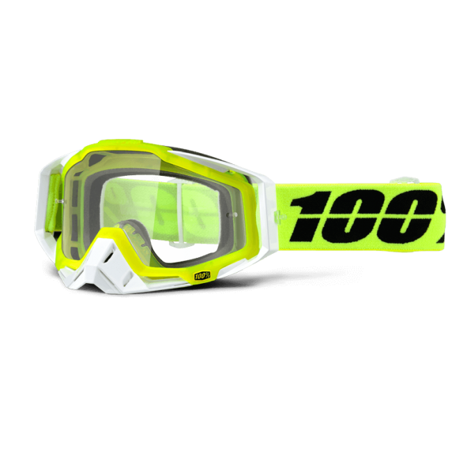 OFF-ROAD AKINIAI 100% RACECRAFT SOLAR CLEAR