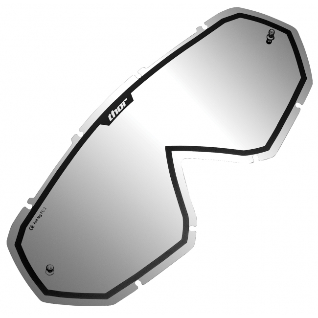 OFF-ROAD AKINIŲ LEŠIS THOR HERO/ENEMY MIRROR BLACK