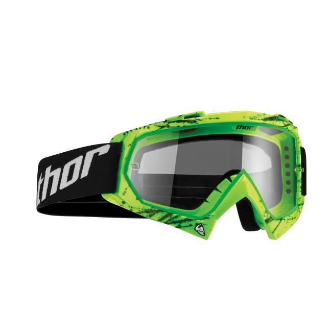 OFF-ROAD AKINIAI THOR YOUTH ENEMY PRINTED SPLATTER GREEN