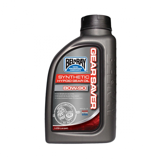 Greičių Dėžės Tepalas Bel-Ray Gear Saver Hypoid Gear Oil 80W-90 1L