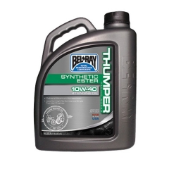 Sintetinis Variklio Tepalas Bel-Ray Thumper Racing Synthetic Ester Blend 4T 10W-40 4L