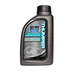 Pusiau Sintetinis Variklio Tepalas Bel-Ray Thumper Racing Synthetic Ester Blend 4T 15W-50 1L