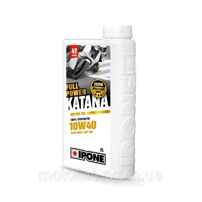 Sintetinė alyva IPONE FULL POWER KATANA 10W-40 2L