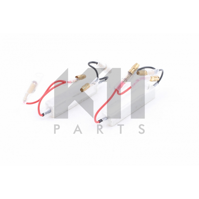 LED Posūkių rezistorių komplektas K11 PARTS K108-001 10W