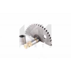 Užvedimo kojelės dantratis  K11 PARTS K446-002 GY6 46,5mm