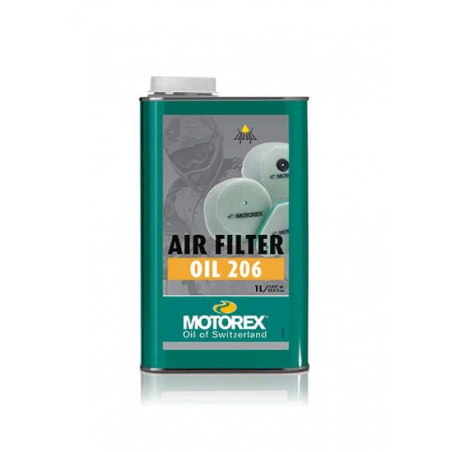 Oro filtro tepalas MOTOREX AIR FILTER OIL 206 1L
