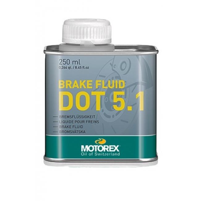 Stabdžių skystis MOTOREX DOT-5.1 BRAKE FLUID 250ml