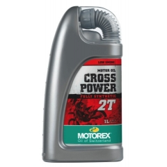 Sintetinis Tepalas MOTOREX CROSS POWER 2T 1L