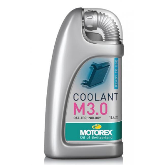 Aušinimo skystis MOTOREX COOLANT M3.0 READY TO USE 4L