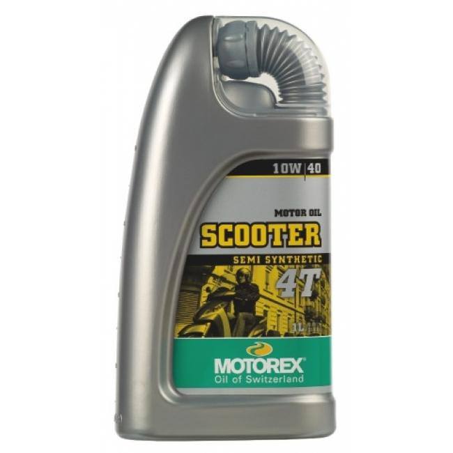 Pusiau sintetinis Tepalas MOTOREX SCOOTER 4T 4T 10w40 1L