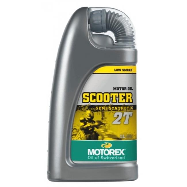 Pusiau sintetinis Tepalas MOTOREX SCOOTER 2T 1L