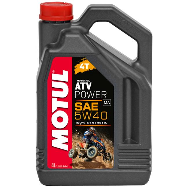 Sintetinis Tepalas MOTUL ATV POWER 4T 5W-40 4L