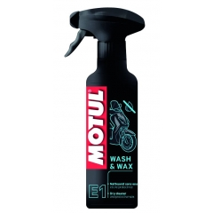 Valiklis MOTUL E1 WASH & WAX 400ml