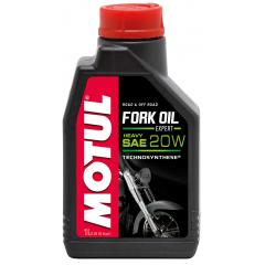 Pusiau sintetinis šakių Tepalas MOTUL FORK OIL HEAVY EXPERT 20W 1L