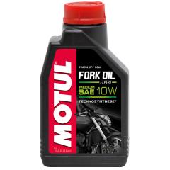 Pusiau sintetinis šakių Tepalas MOTUL FORK OIL MEDIUM EXPERT 10W 1L