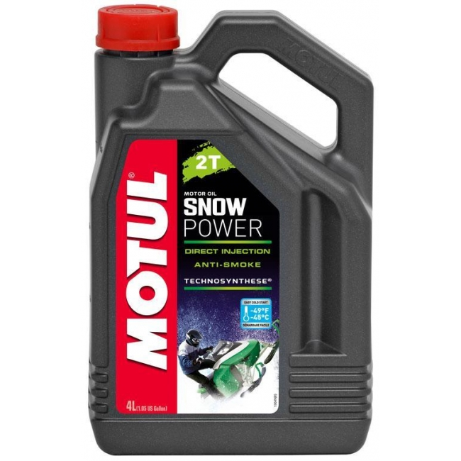 Pusiau sintetinis Tepalas MOTUL SNOWPOWER 2T 4L