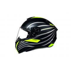 ŠALMAS MT HELMETS TARGO DOPPLER MATT FLUOR YELLOW