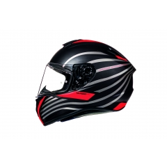 ŠALMAS MT HELMETS TARGO DOPPLER MATT FLUOR RED