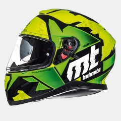 ŠALMAS MT HELMETS THUNDER 3 SV TORN GLOSS FLUOR YELLOW/FLUOR GREEN