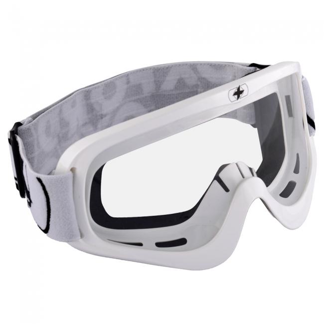 OFF-ROAD AKINIAI OXFORD Fury Goggle-Glossy White