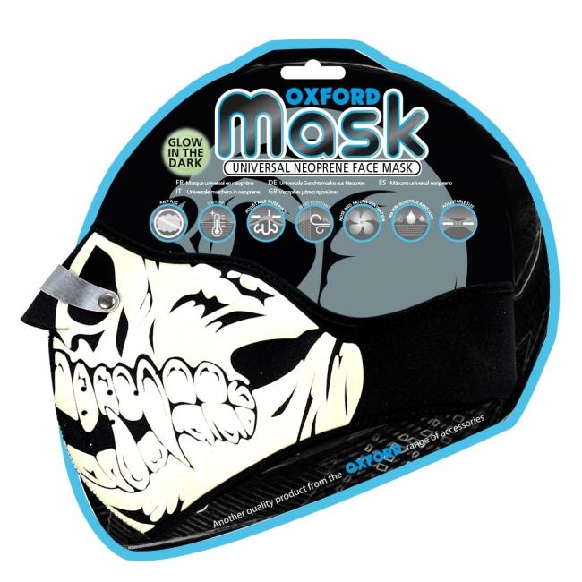 KAUKĖ Oxford Mask - Glow Skull