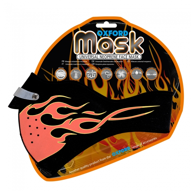 KAUKĖ Oxford Mask - Flame