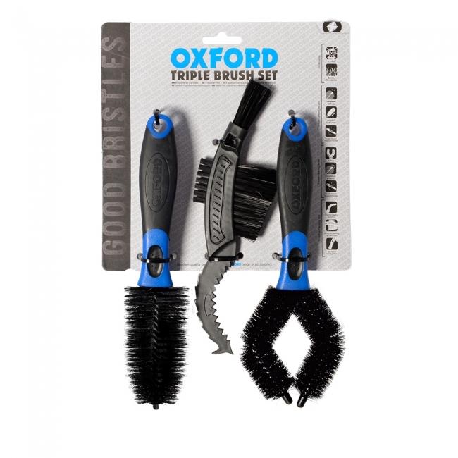 Valymo šepetys OXFORD Triple Brush Set