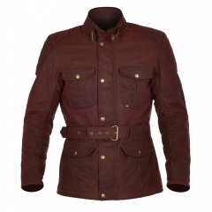 OXFORD STRIUKĖ BRADWELL JACKET OXBLOOD RED