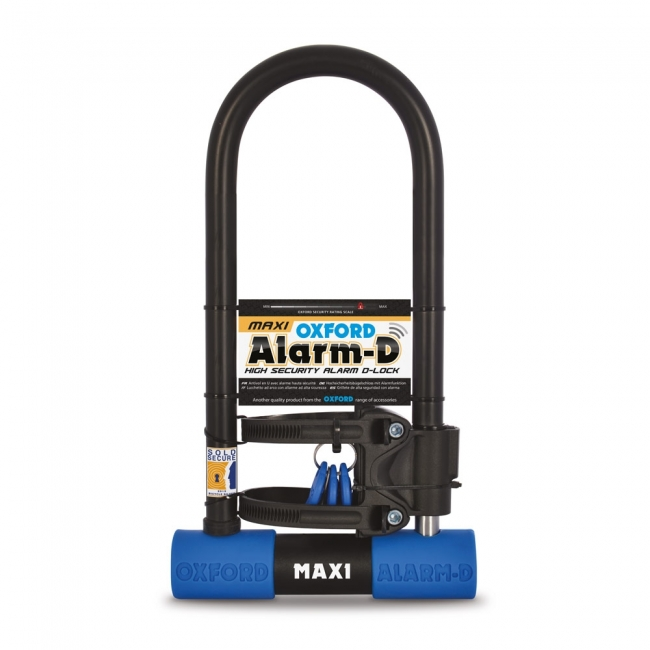 MOTOCIKLO UŽRAKTAS OXFORD Alarm-D Max High Security Alarm D-Lock