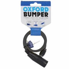 MOTOCIKLO UŽRAKTAS OXFORD Bumper cable lock Smoke