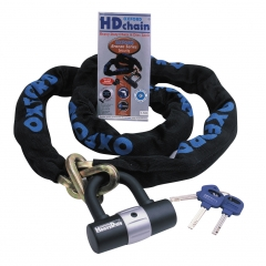 MOTOCIKLO UŽRAKTAS OXFORD HD Chain Lock Heavy Duty Chain & Padlock 1M